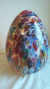 ilu design xl millefiori egg murano glass lamp