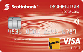 momentum credit card scene debit card