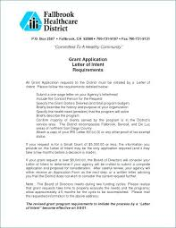 Grant Application Funding Request Template Business Letter Sample ...