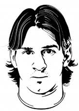 Small Picture Lionel Messi Drawings Easy Sketch Coloring Page Coloring Home