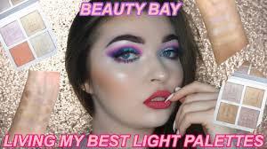 Beauty Bay Living My Best Light Highlight Palette In Brilliance Beautybay Living My Best Light Highlighter Palettes Missecbeauty