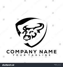 Logo Design Buffalo Ny Buffalo Bulls Black Vector Icon Logo Royalty Free Stock Image