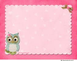 Owl Sweetheart Thank You Card  Pink Hearts Party MatchOwl Baby Shower Thank You Cards