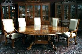round dining table for 8.  Table 8 Person Round Table Six Beautiful  Ideas 6   Inside Round Dining Table For