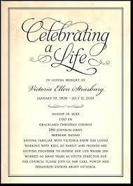 Memorial Announcement Cards Memorial Service Invitation Card Template Arts Arts