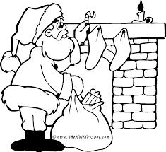 Mickey Santa Christmas Coloring Pages Dadbxxbk4