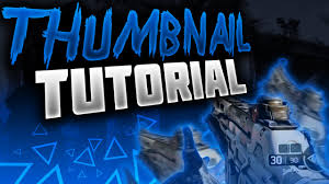 photoshop thumbnail how to make good thumbnails for youtube 2015 2016 black ops 3
