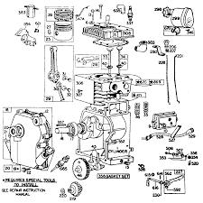 Diagram briggs and stratton ohv engine parts diagram