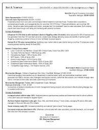 Example Of Resume For Sales Position Free Resume Example And