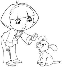 Small Picture Backpack Coloring Page Dora Coloring Coloring Coloring Pages