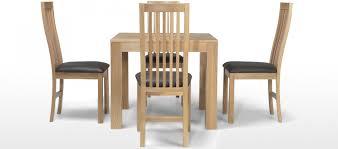 Solid Oak Dining Set Room Ethnicraft Slice Table Wood Furniture