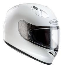 Hjc Cl 17 Visor Hjc Fg17 Metal Integral Road White Helmets