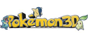 A Pokemon 3D logo I made. | Pokémon 3D