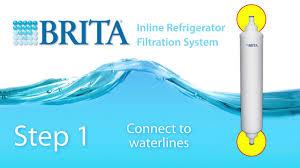 Refrigerator Ice Maker Filter Brita Inline Refrigerator Icemaker Filter Rf 104 Installation