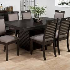 oblong dining table jofran rectangle dining table with extension leaf in sensei oak