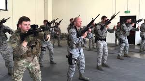 Air Force Security Forces Tech School Usaf Security Forces Training Youtube