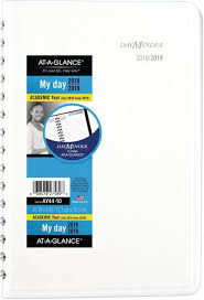 Academic Daily Planner At A Glance 2018 2019 Academic Year Daily Planner Appointment Book