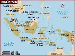 Indonesia Of Map Map Of