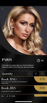 the new paris makeup look in the glam app