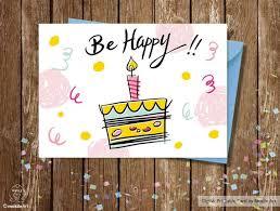 printable children s birthday cards birthday card printable birthday card cake birthday card