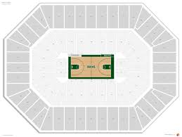 Bradley Center Seating Guide Rateyourseats Com