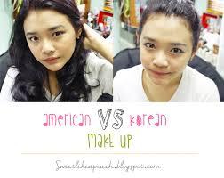 american make up vs korean make up beauty ger indonesia