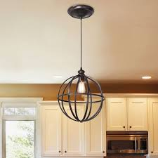 instant pendant lighting. worth home products instant pendant light with cage brushed bronze lighting