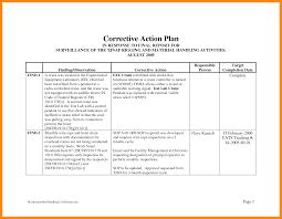 Corrective Action Plan Bravebtr