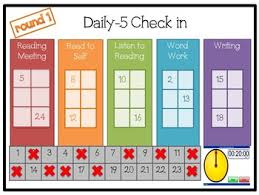 Daily 5 Check In Ppt With Countdown Timers Editable