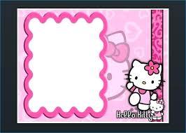Hello Kitty Invitation Printable Blank Baptism Invitations Printable Baptism Invitation Cards Free