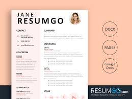 Modern Resume Facebook Style Download Eudora Pink Resume Template Resumgo Com