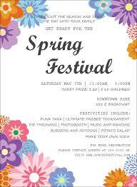 Spring Festival Spring Festival 3 Invitation