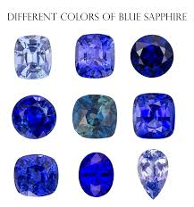 Sapphire Color Chart Supplier Of Blue Sapphire Cabochons From Small Rounds To