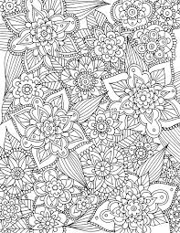 Free Coloring Pages 21 Gorgeous Floral Pages You Can Print And Color