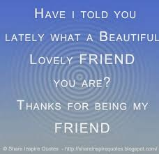 Beautiful Friend Quote