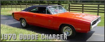 1970 Dodge Charger Factory Paint Colors