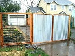 how to build a corrugated metal fence panels sheet medium size of gate and cost corrugated metal fence panels