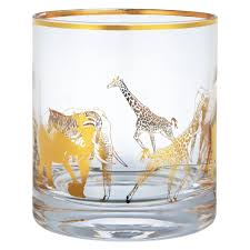 John Lewis <b>Animal Tumbler</b>, Gold at John Lewis & Partners