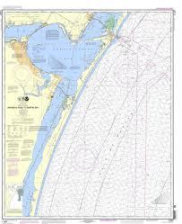 Noaa Chart 11307 Aransas Pass To Baffin Bay