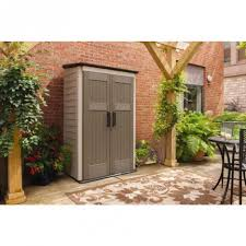 Outdoor Storage Cabinets With Doors Contemporary Outdoor Storage With Large Vertical Storage Shed