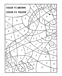 Small Picture Hidden Picture Coloring Page Fill in the colors to find hidden