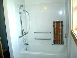 grab bar for shower s moen mount head holder with soap delta