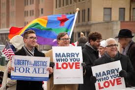 Argument on supporting gay marriage