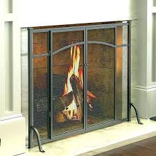 fireplace screens with doors. Fireplace Screen And Glass Doors Screens Home Depot With Door .