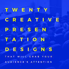 presentation design learn use any of these creative decks for a one of a kind presentation