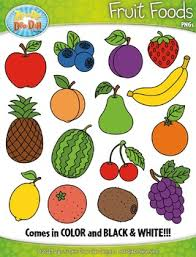 fruit food group clipart. Brilliant Group Fruit Foods Clipart ZipADeeDooDah Designs For Food Group I