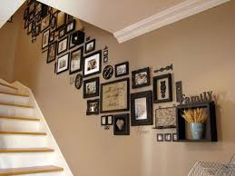 must try stair wall decoration ideas 4