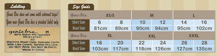 Details About New Genie Bra 3 Pk With Pads S M L Xl 2x 3x Original Vibrant Or Pastel