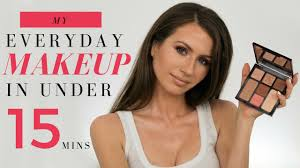 in today s makeup tutorial i m going to show you my go to everyday makeup it s a very universal and flattering look that is super easy to achieve and does