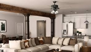 ceiling fan living garag room porch light hunter small chandelier fans large best front fixture designs